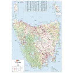 Tasmania State Super Map