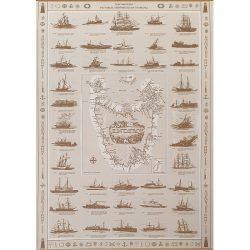 Tasmanian Shipwreck Map
