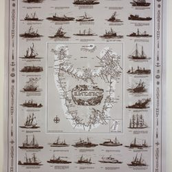 Tasmanian Shipwrecks Map