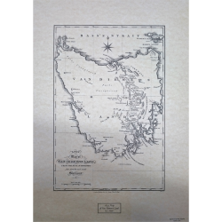 A New Map of Van Diemen's Land