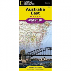 Australia East Adventure Travel Map
