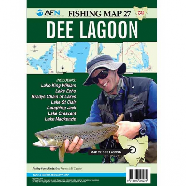 Dee & Bronte Lagoons Fishing Map