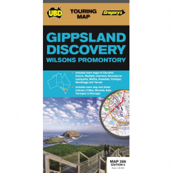 Gippsland Discovery & Wilsons Promontory Map 386