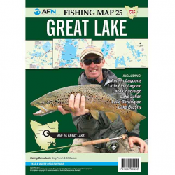 Great Lake Fishing Map