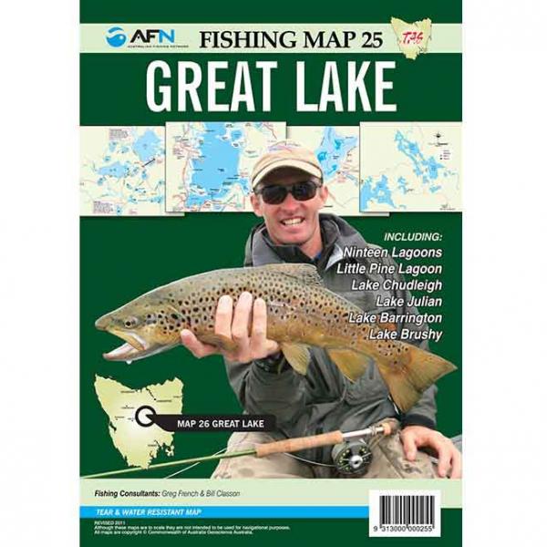 Great Lake Fishing Map