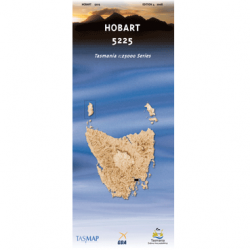 Hobart Topographic Map