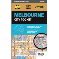 Melbourne City Pocket Map 360