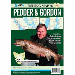 Pedder & Gordon Fishing Map