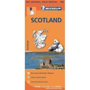 Scotland Map 501