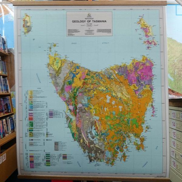 Tasmania Geology Map - Small