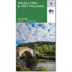 Wales Cymru OS Map 6