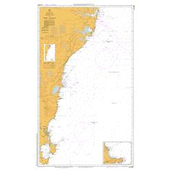Australia Map Jervis Bay.Aus 808 Chart New South Wales Jervis Bay To Port Jackson