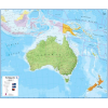 Australasia Wall Map