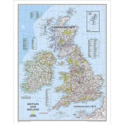 Britain & Ireland Classic Wall Map
