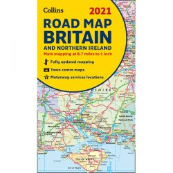 Collins Road Map Britain 2021
