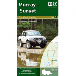 Murray - Sunset 4WD Map