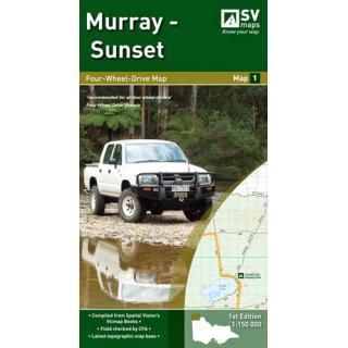 Murray - Sunset 4WD Map