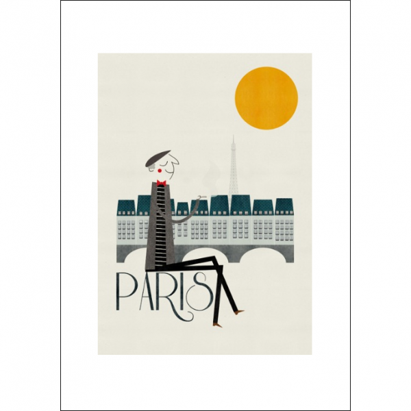 Paris Art Print - Blanca Gomez