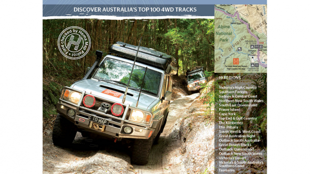 Western Australia 4wd Map.4wd Adventures The Tasmanian Map Centre