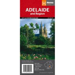 Adelaide CBD, City & Suburbs Map