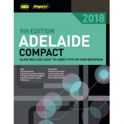 Adelaide Compact Street Directory 2018