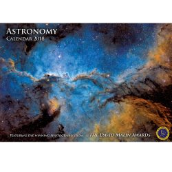 Astrovisuals Astronomy Calendar 2018