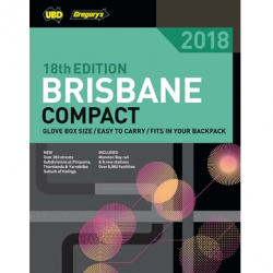 Brisbane Compact Street Directory 2018