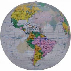 Inflatable World Globe 40cm