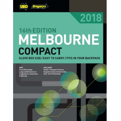 Melbourne Compact Street Directory 2018