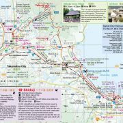 Shikoku Japan 88 Route Guide Map 3
