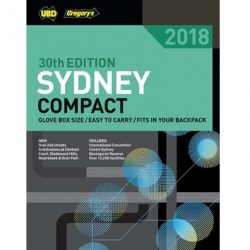 Sydney Compact Street Directory 2018