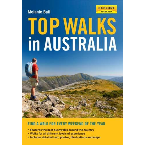 Map Of Australia Natural Features.Top Walks In Australia The Tasmanian Map Centre