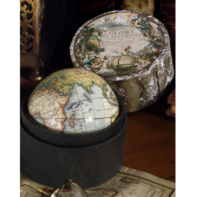 1745 Vaugondy Globe in a Box