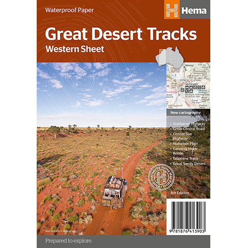 Great Desert Tracks Western Sheet