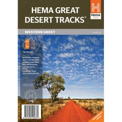 Great Desert Tracks Western Sheet