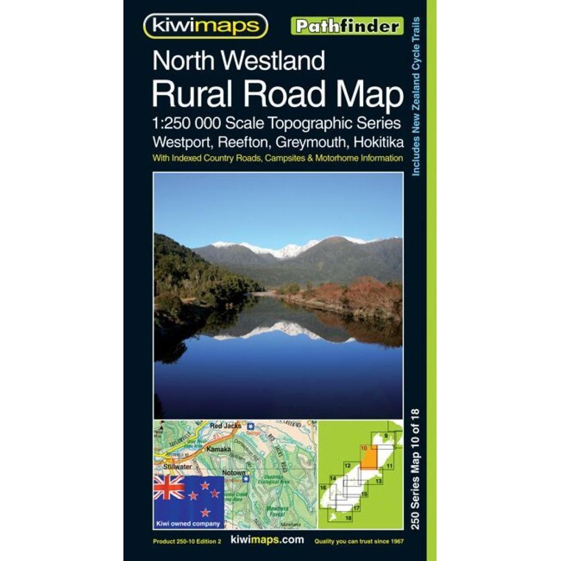North Westland Rural Road Map