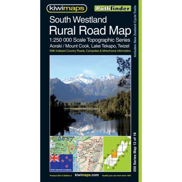South Westland Rural Road Map