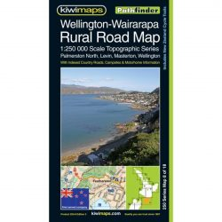 Wellington-Wairarapa Rural Road Map