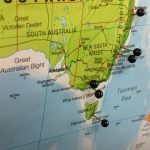 Map Pin Board - Australia