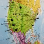 Map Pin board - USA
