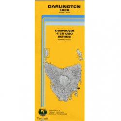 Darlington 1.25000 Topographic Map
