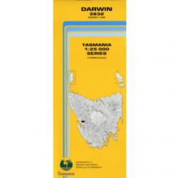 Darwin 1.25000 Topographic Map