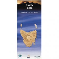 Davey 1.25000 Topographic Map