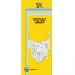 Dee 1.25000 Topographic Map