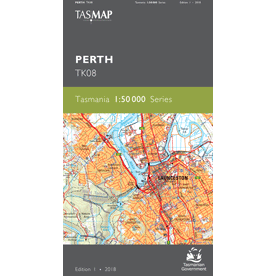 Perth Topographic Map