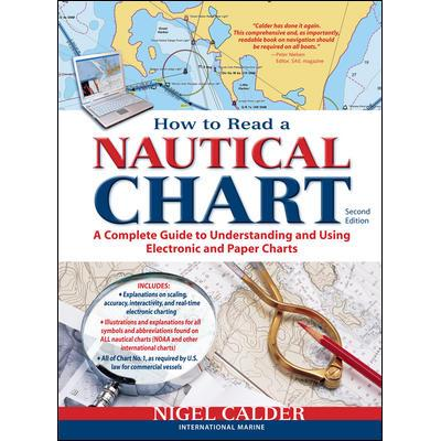 How to read a nautical chart front cover
