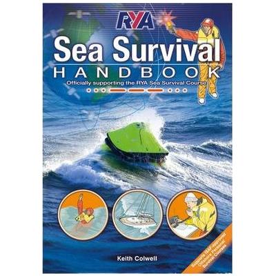 RYA Sea Survival Handbook Font Cover