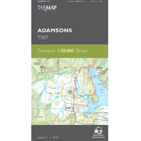 Adamsons 1.50,000 Topographic Map