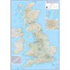 British Isles Routeplanning Wall Map