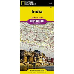 India Adventure Travel Map
